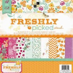 Набір паперу Freshly Picked, 30х30 см, DCWV, PS-005-00320