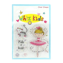 Штампи акрилові Whiz Kids – Ballerina, Rachel Ellen, RESTP004