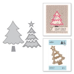 Ножі Christmas Tree, Spellbinders, S3-361
