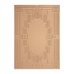 Пластина для текстурування Art Deco – Deco Squared, Spellbinders, S6-071