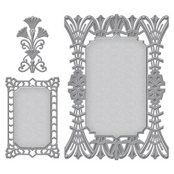 Ножі Art Deco Astoria Decorative Accent, Spellbinders, S6-075