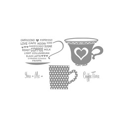 Штампи Cup for Two, Celebra'tions™, Spellbinders, SCS-012