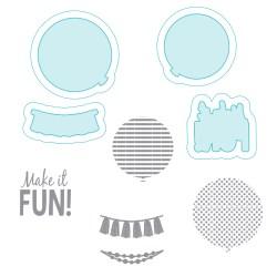 Ножі + штампи Balloon Fun, Richard Garay, SCSD-013