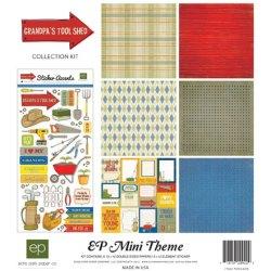 Набір паперу Grandpa's Tool Shed Mini Theme, 30х30 см, Echo Park, SW2405