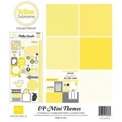 Набір паперу Yellow Submarine Mini Theme, 30х30 см, Echo Park, SW3205