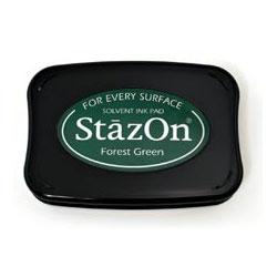 Перманентне чорнило StazOn – Forest Green Ink, SZ-99, Tsukineko