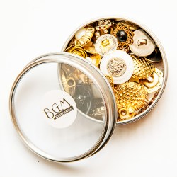 Ґудзики Antique Mix, Buttons Galore, TIN100