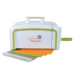 Машинка для вирізання і тиснення Journey Platinum Machine з магнітною платформою, Spellbinders, TO-0090