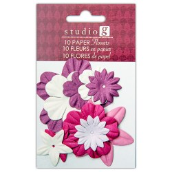 Квіти паперові Everyday Purples, Hampton Art, VAC0401-2