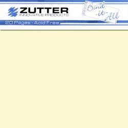 Сторінки для створення альбому – 20X20, кремові, ZT2742