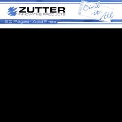 Сторінки для створення альбому – 20X20 см, чорні, ZT2743