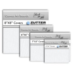Обкладинки-канвас Zutter Bind-It-All Canvas Art Boards 20×20см, Zutter, ZT2797