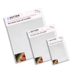 Прозорі файли для сторінок для альбомів на пружині Movable 30×30 Pre Punched page protector, Zutter, ZT7604