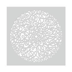 Трафарет Mandala Swirl, Hero Arts, SA135