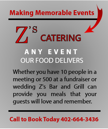 Zs Bar and Grill Caters