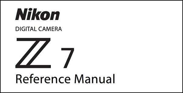 Nikon Z7 Manual (PDF) Download