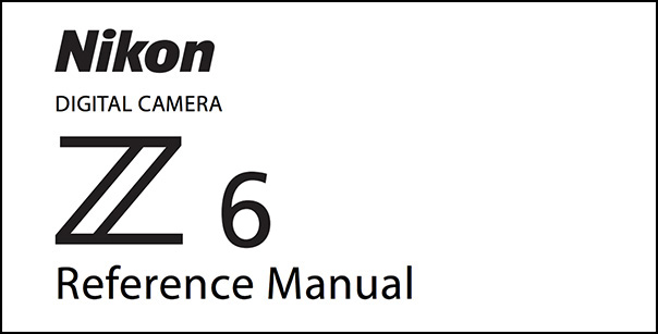 Nikon Z6 Manual (PDF) Download