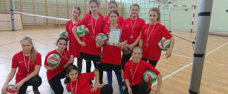 III miejsce w Mistrzostwach Gminy Mosina w siatkówce