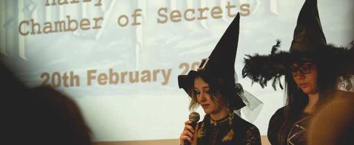Udział w konkursie Harry Potter's Chamber of Secrets