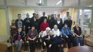Spotkanie wolontariuszy z cyklu: Młodzi seniorom