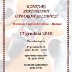 Konkurs Utworów Solowych_Plakat