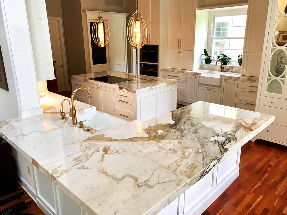 Marble kitchen countertops classic elegance and modern