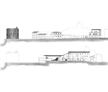 Progetto di recupero dell'ex Collegio dei Gesuiti con annessi spazi di relazione (ex Caserma Umberto I) 2
