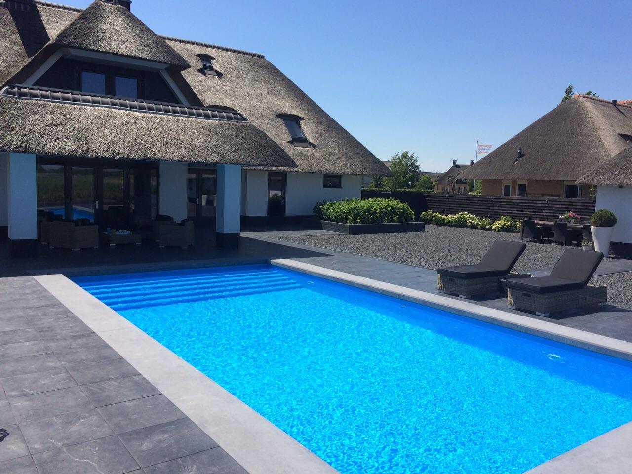 Inbouw Zwembad Van Zsw Thuisrecreatie