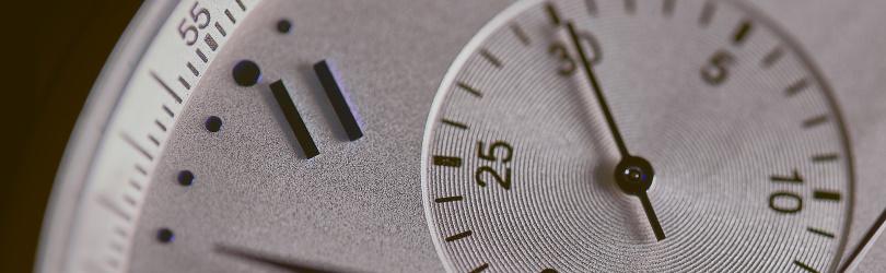 detail van een horloge