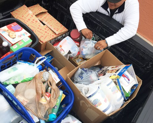 Donations for the El Paso Rescue Mission