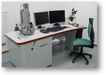 VEGA II SBU Scanning Electron Microscope ( Tescan )