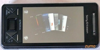 X-Panels do Xperia X1 (organizados em leque)