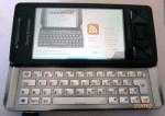 Zumo no Opera Mobile do Xperia X1