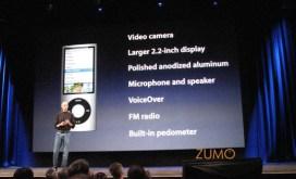 Recursos do novo iPod nano