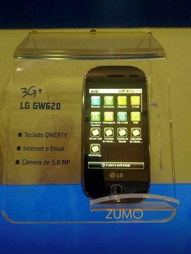 LG GW620: interface S-Class