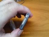 Modu: detalhe do conector para acessórios e porta USB