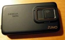 N900 visto por trás