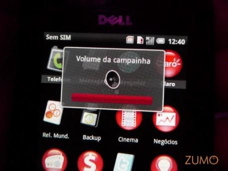 Dell Mini 3iX: volume da campainha