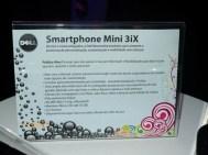Especificações divulgadas do Mini 3iX