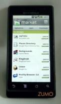Android Market: novo visual no 2.0
