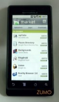 Android Market: novo visual no 2.0