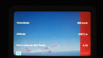 Informações de voo