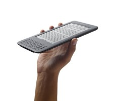 Kindle in hand - graphite