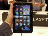 Tela de Apps: interface igual à do Galaxy S