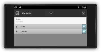 021 - Handset chat (modo landscape)