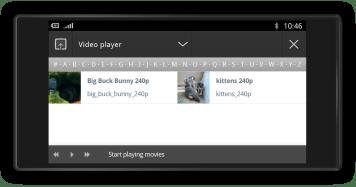 020 - Handset video (modo landscape)
