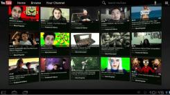 nova interface para youtube