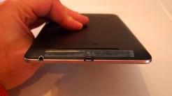 Outra visão da parte inferior do Nexus 7