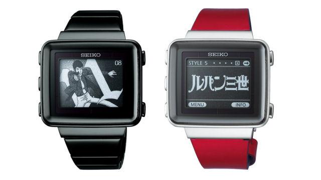 adf964fd0aa Gadget do dia  relógio Seiko Sprit Smart EPD Lupin III Limited - ZTOP