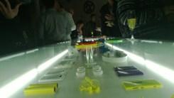 A grande mesa colorida